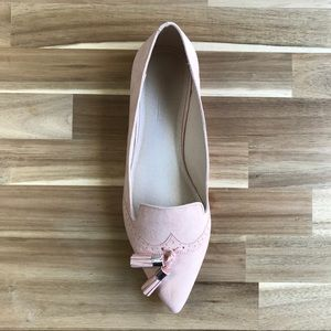 ASOS Shoes - ASOS LOX Painted Loafer Ballet Flats Nude UK 8